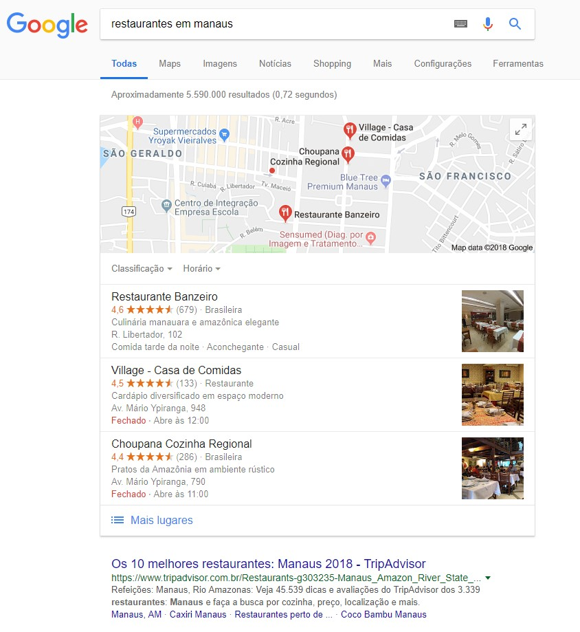 O Google Meu Negócio facilita a divulgação de uma empresa na Internet